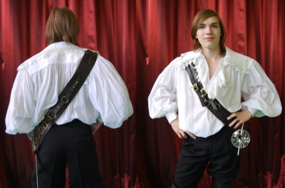Перевязь плечевая, 16-18 век